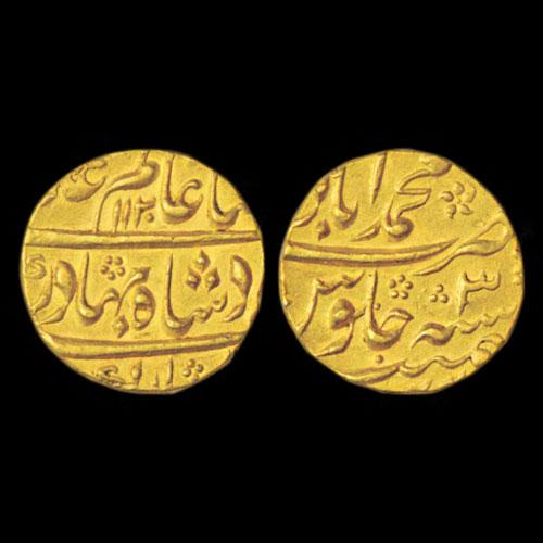 Gold-Mohur-of-Shah-Alam-Bahadur