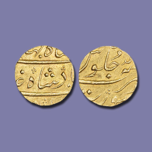 Gold-Mohur-of-Shah-Jahan-III