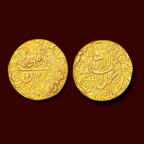 Gold-Mohur-of-Shah-Jahan-Listed-for-INR-4,00,000