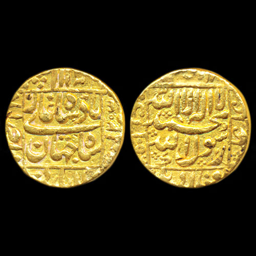 Gold-Mohur-of-Shah-Jahan-Sold-For-INR-45,000
