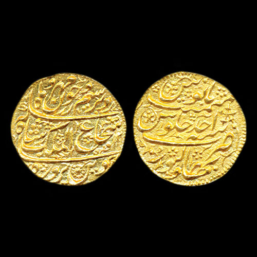 Gold-Mohur-of-Shah-Shuja-ul-Mulk