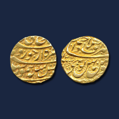 Gold-Mohur-of-Taimur-Shah-Durrani-Listed-For-INR-43,000