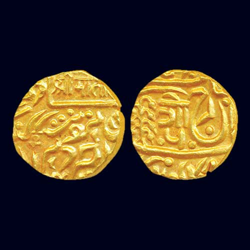 Gold-Mohur-of-Umaid-Singh