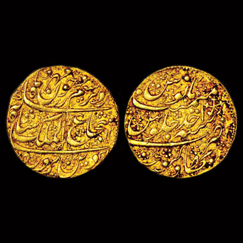 Gold-Nazarana-Mohur-of-Bahawalpur