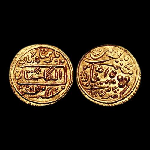 Gold-Nazarana-Mohur-of-Umed-Singh-II
