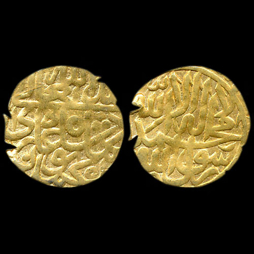Gold-One-Sixteenth-Ashrafi-of-Humayun