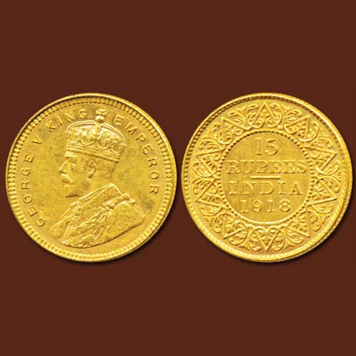 Gold-rupee-of-King-George-V