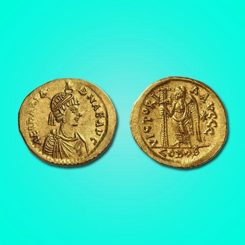 Gold-Solidus-of-Aelia-Ariadne-