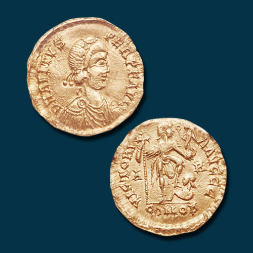 Gold-Solidus-of-Avitus