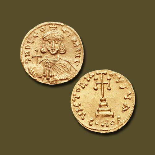 Gold-Solidus-of-Leo-III-the-Isaurian