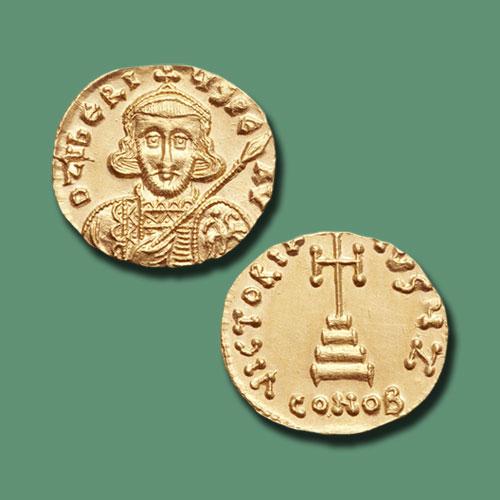 Gold-Solidus-of-Tiberius-III