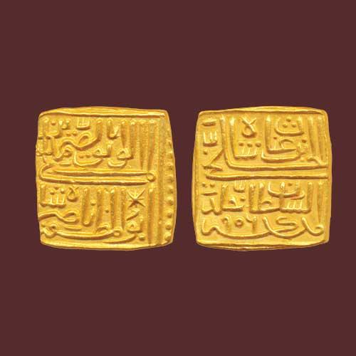 Gold-Square-Tanka-of-Nasir-Shah