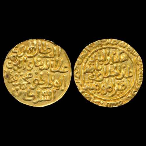 Gold-Tanka-of-Ala-Al-Din-Muhammad-Khalji