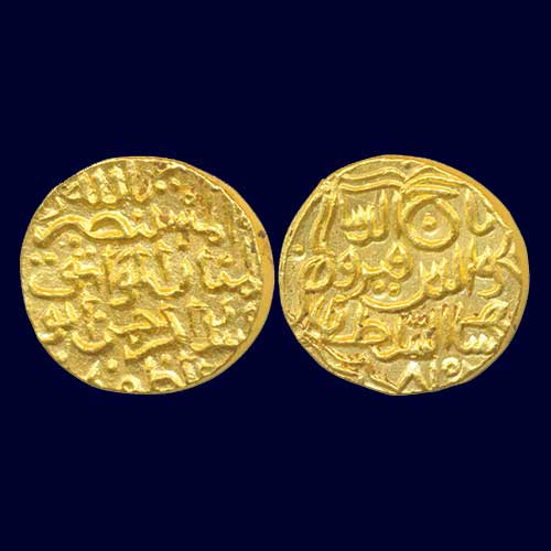 Gold-Tanka-of-Bahamani-Sultanate-Listed-For-INR-2,00,000
