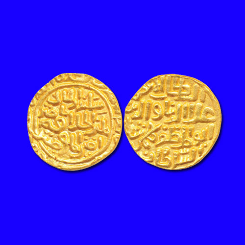 Gold-Tanka-of-Bahamani-Sultanate-listed-For-INR-350,000
