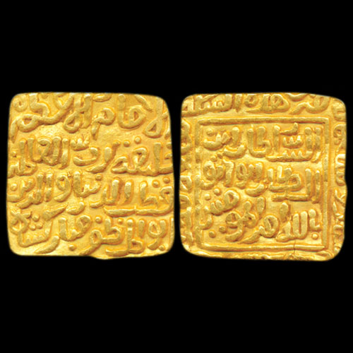 Gold-Tanka-of-Delhi-Sultan-Listed-for-INR-2,00,000