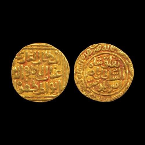 Gold-Tanka-of-Ghiyath-Al-Din-Tughluq