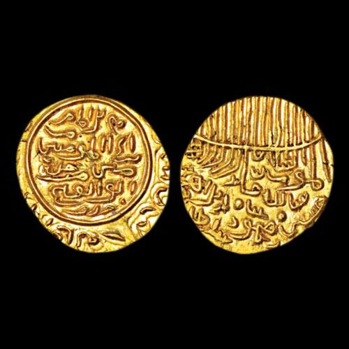 Gold-Tanka-of-Jaunpur-Sultanate-