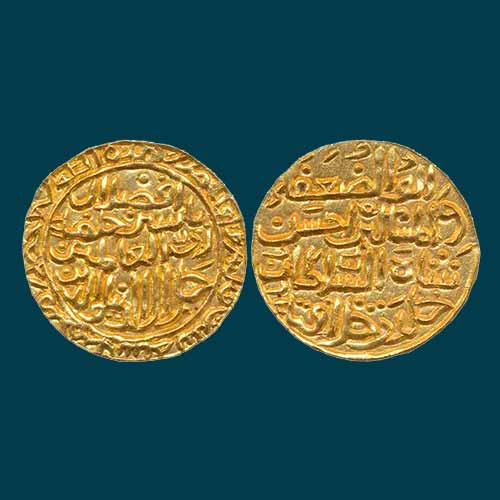 Gold-Tanka-of-Madura-Sultanate-Listed-For-INR-600000