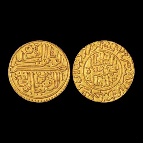 Gold-Tanka-of-Mahmud-I-sold-for-INR-3,25,000