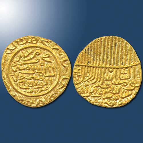 Gold-Tanka-of-ShamaAl-Din-Ibrahim-Shah-Sold-For-INR-80,000
