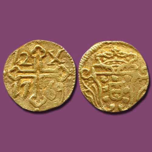 Gold-Xerafins-of-Indo-Portuguese-Goa