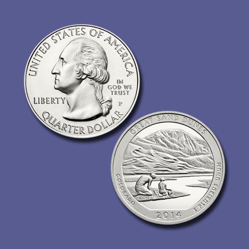 Great-Sand-Dunes-National-Park-Quarter-Dollar