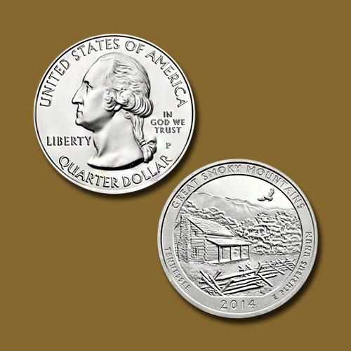 Great-Smoky-Mountains-National-Park-Quarter-Dollar