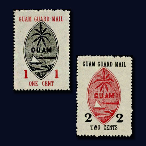Guam-Guard-Mail-Stamps