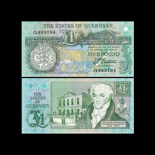 Guernsey-1-Pound-banknote-of-1991-1995-series