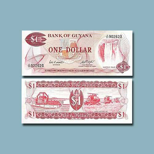 Guyana-1-Dollar-banknote-of-1992