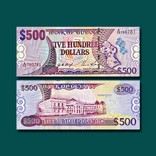 Guyana-500-Dollars-banknote-of-2002