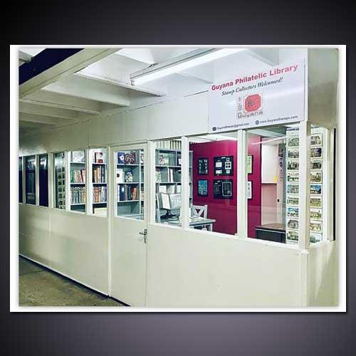 Guyana's-First-Philatelic-Library