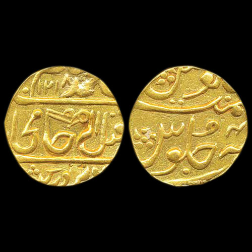 Gwalior-Gold-Mohur-Sold-for-INR-5,00,000