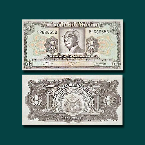 Haiti-1-Gourde-banknote-of-1983-84