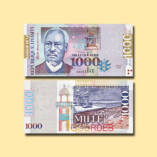 Haiti-1000-Gourdes-banknote-of-1999-2009