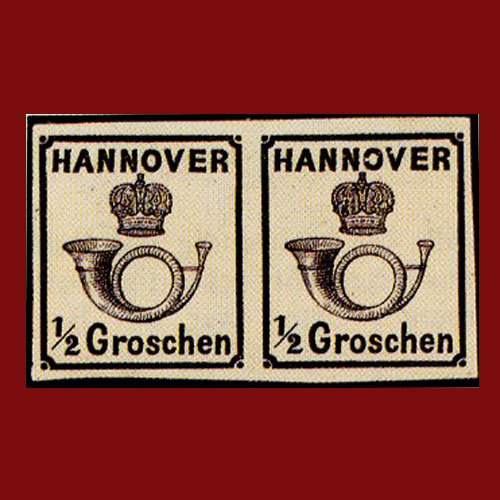 Half-Groschen-Stamp-of-the-State-of-Hannover