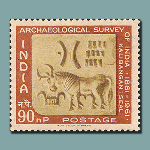Harappan-Seal-on-Stamp