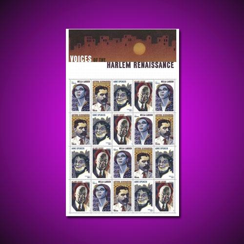 Harlem-Renaissance-Honoured-by-US-Postal-Service