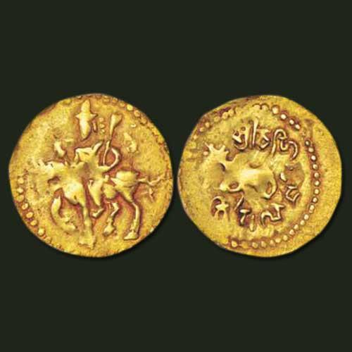 Hindu-Shahis-Gold-half-Dinar-from-Gandhara