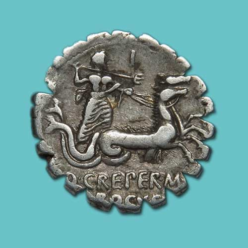 Hippocampus-on-Roman-coins