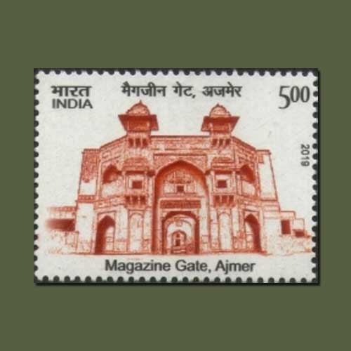 Historical-gate-of-India:-Magazine-Gate