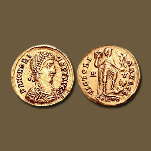 Honorius-became-Co-Emperor