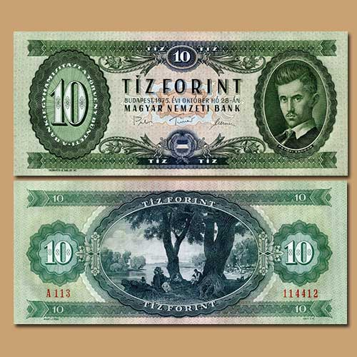 Hungary-10-Forint-banknote-of-1975