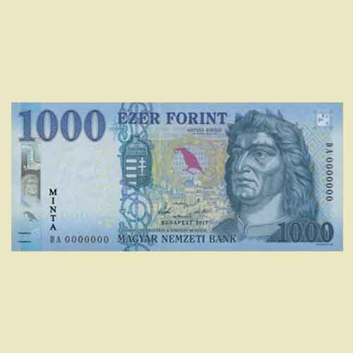 Hungary-Releases-its-Upgraded-HUF-1,000-Note-into-Circulation