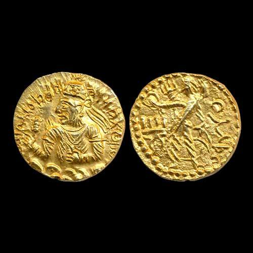 Huvishka-Gold-Dinar-Sold-For-INR-1,00,000