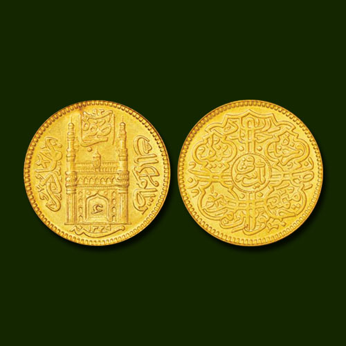 Hyderabad-Gold-Mohur-Listed-For-INR-2,20,000