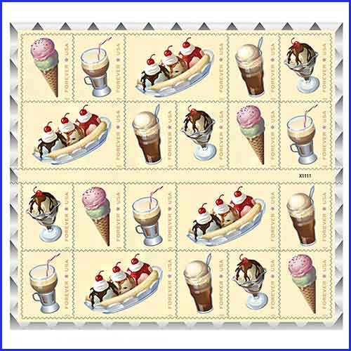 Ice-Cream-Frozen-on-Stamps-Forever