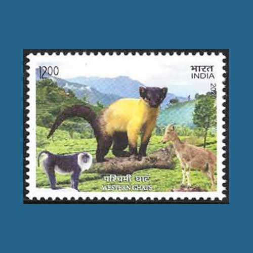 India-Post-illustrates-the-Western-Ghats