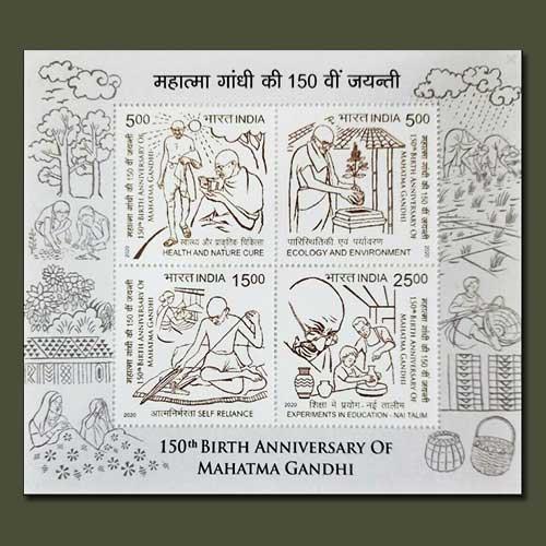 India-Post-issued-News-Stamp-Set-on-Bapu